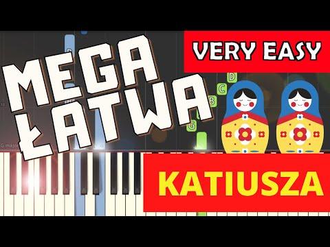 🎹 Katiusza (Katyusha) - Piano Tutorial (MEGA ŁATWA wersja) (VERY EASY) 🎹