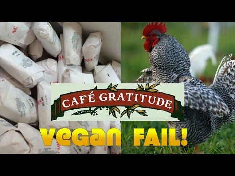 EPIC VEGAN FAILS: Cafe Gratitude & Gracias Madre