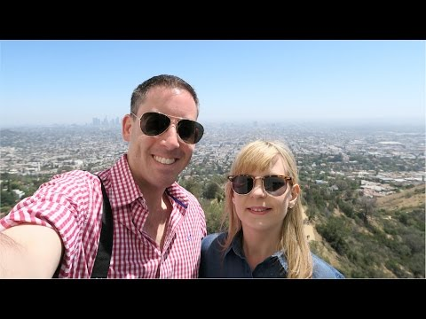 Disneyland & California Vlog | May 2016 | Day 5 Hollywood, Griffith Observatory and Santa Monica Bea