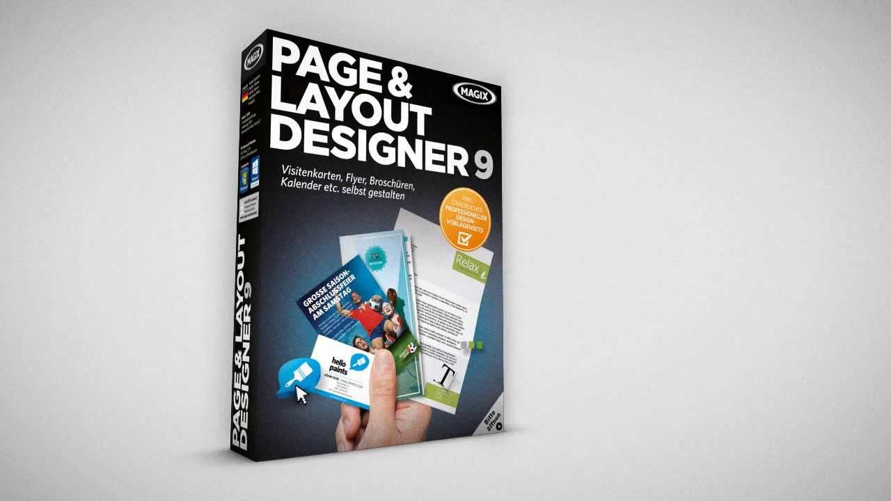 Magix Page Layout Designer Download Shareware De