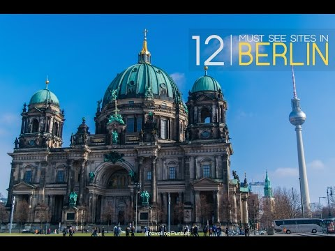 12 Must see places BERLIN, Germany 🇩🇪