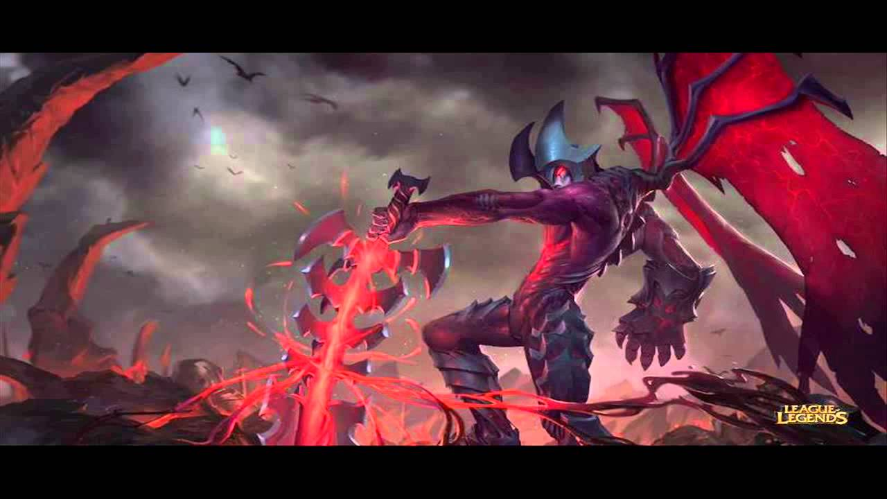 LoL Aatrox The Darkin Blade - New Champion Revealed! League of Legends) -  YouTube