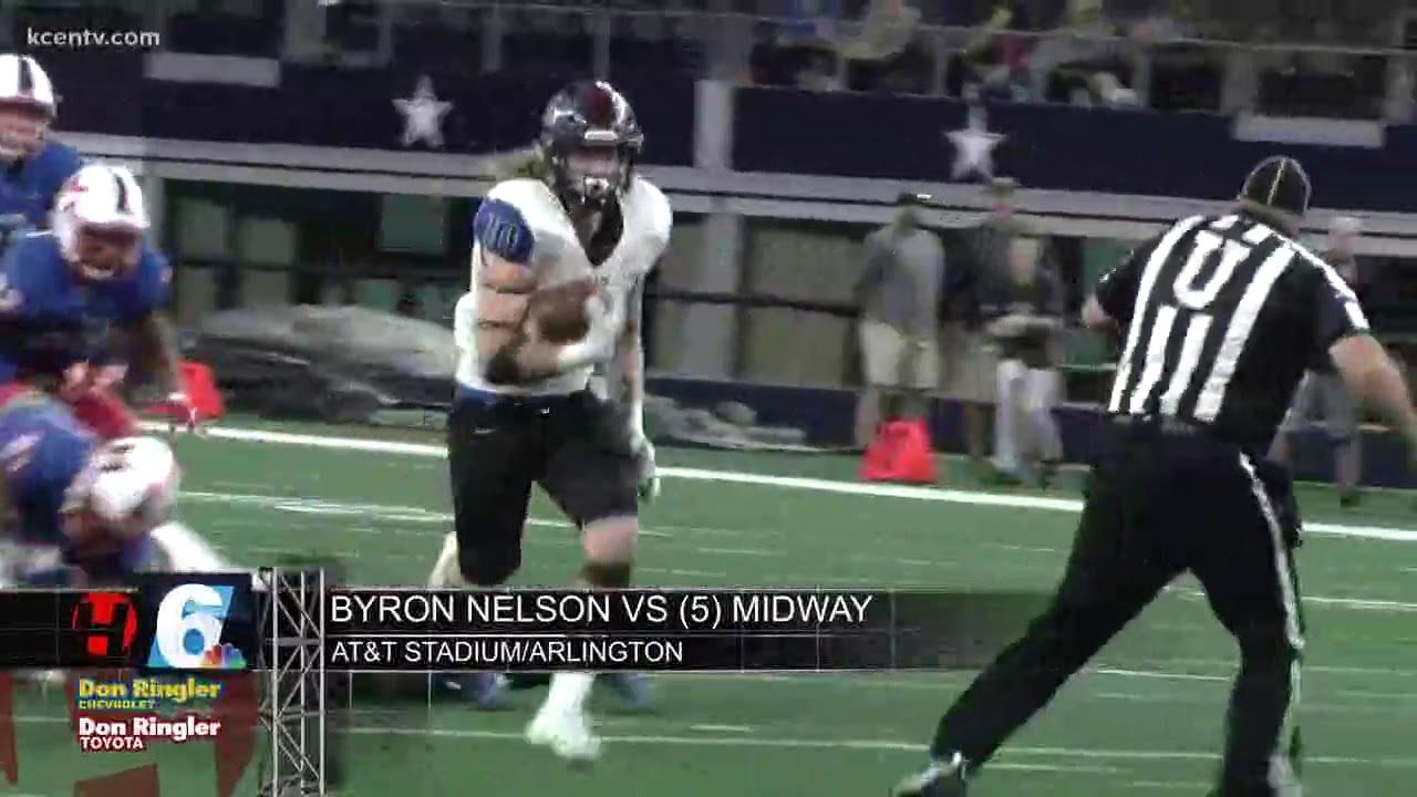 Midway Byron Nelson Clash In 6a Area Round Youtube