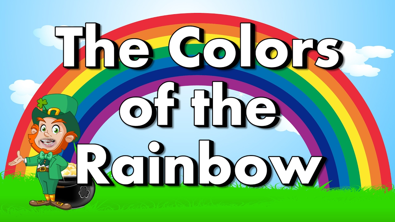 colors of the rainbow color song for st