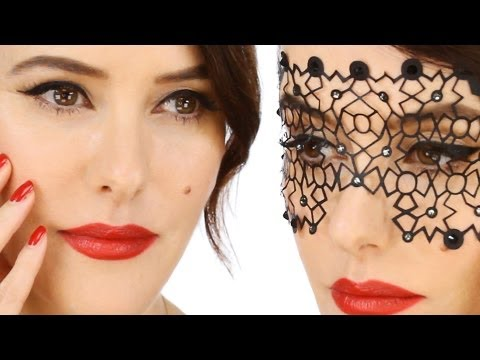 Glamorous 'Vintage Inspired' Party Make-up Tutorial