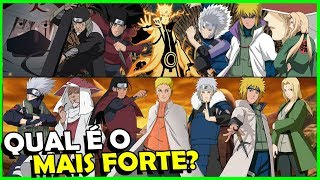 TOP 7 HOKAGES MAIS PODEROSOS DE NARUTO