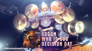 Sodom - Who Is God - Drumcover by Makka #5MinutesAloneDrums on Tama Starclassic Performer