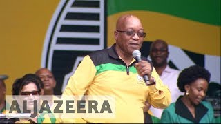 South Africa's ruling party dogged with criticism