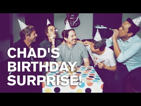 CHAD'S BIRTHDAY SURPRISE!