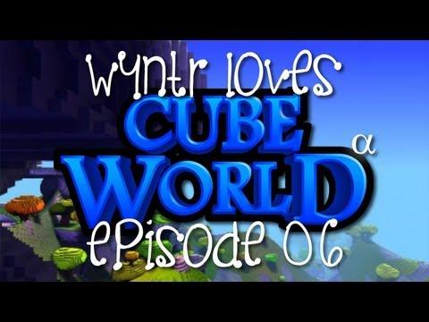 Wyntr Loves Cube World E6 - Aska City What?