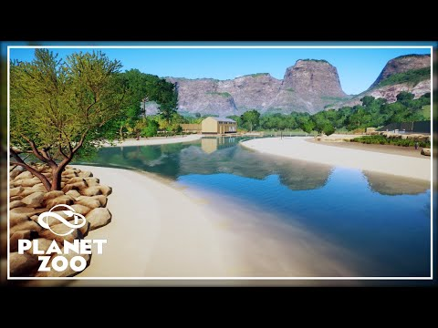 Penguin Beach | King Penguin Habitat | Planet Zoo Aquatic Pack |
