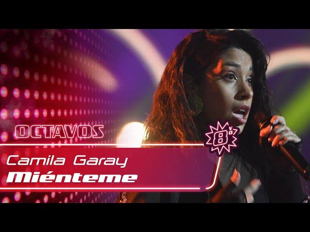 """#TeamMauYRicky: Camila Garay - \""""Mienteme\"""" - Octavos - La Voz Argentina 2021"""