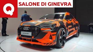 Audi e-tron Sportback, anti X6 elettrica in arrivo - Salone di Ginevra 2019 | Quattroruote