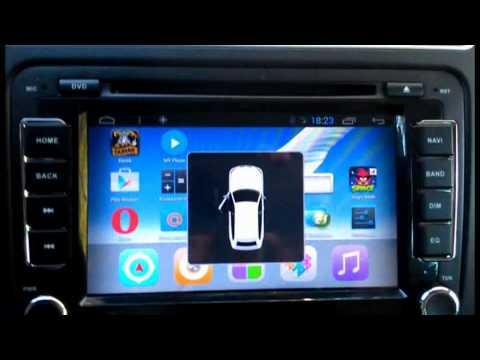 Поло седан   магнитола Андроид 2