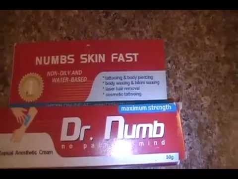 Dr. Numb Review by Jorblan Romero of Florida - Painless Tattoo ...