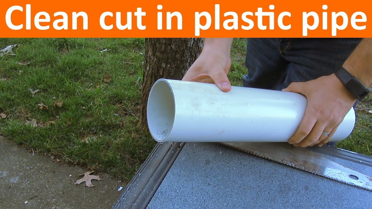 How To Cut Pvc Or Abs Pipe Straight