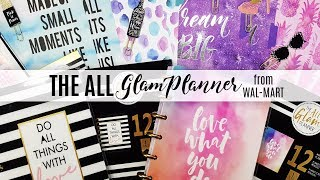 NEW Disc Bound Planner System - The All Glam Planner Stationery sold in Wal-Mart | Scrapcraftastic