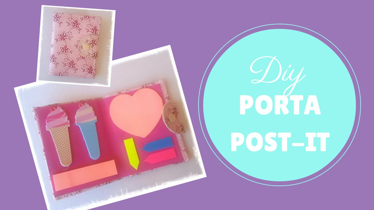 Eccezionale DIY PORTA POST IT - YouTube QJ31