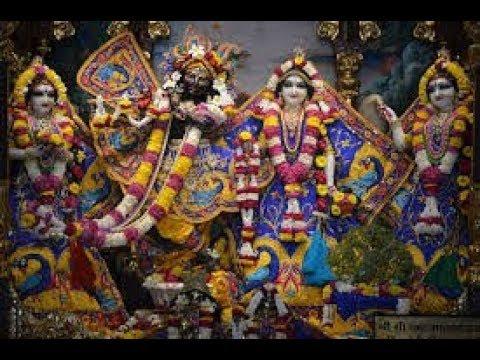 Sri Sri Radha Madan Mohan Temple Mangal Arati Darshan 23rd May 2018 Live from ISKCON Ujjain