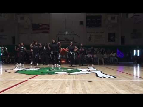 Victor valley high school dance team pep rally