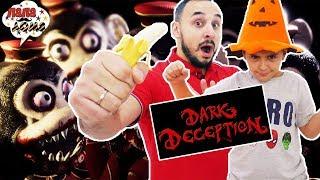 ИГРА ОТ МАСТЕРА УЖАСА! ГОТОВИМСЯ К ХЭЛЛОУИНУ! Папа Роб и Ярик играют в Dark Deception! Часть 1 13+
