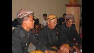 Sekar Pocung laras Slendro Manyura