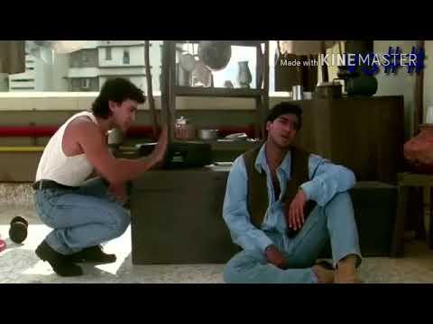 Hanging Comedy Scenes   Aamir Khan   Juhi Chawla   Ajay Devgan   Ishq  