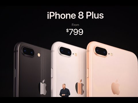 Download Youtube: Apple iPhone 8 - with all screen display and wireless charging