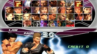 Tekken Tag Tournament - Paul Phoenix & Forest Law