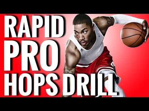 Basketball Finishing Drills For All Point Guards To Practice | Derrick Rose Signature Move