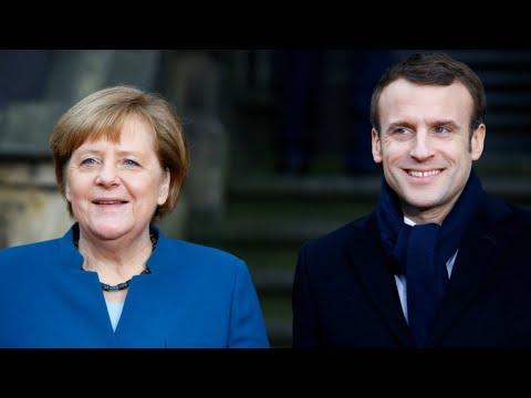 ماكرون وميركل يوقعان معاهدة جديدة لتمتين التعاون بين بلديهما  - نشر قبل 12 دقيقة
