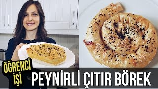 Öğrenci İşi: PEYNİRLİ ÇITIR BÖREK nasıl yapılır? | Merlin Mutfakta Yemek Tarifleri