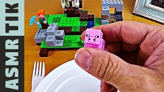 LEGO for LUNCH! ASMRDinner #90 | ASMR eating sounds no talk
