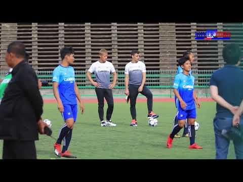 Mr  Keisuke Honda Begins Training The Cambodian National Football Members