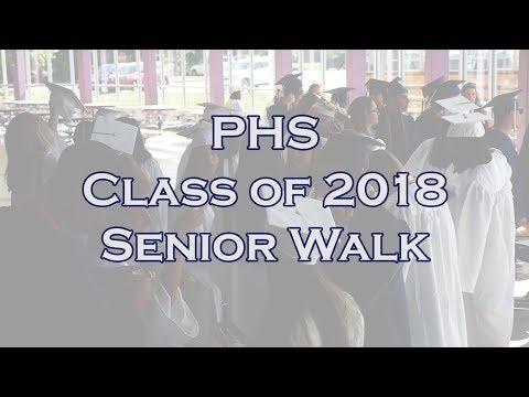 2018 Pembroke High School Senior Walk