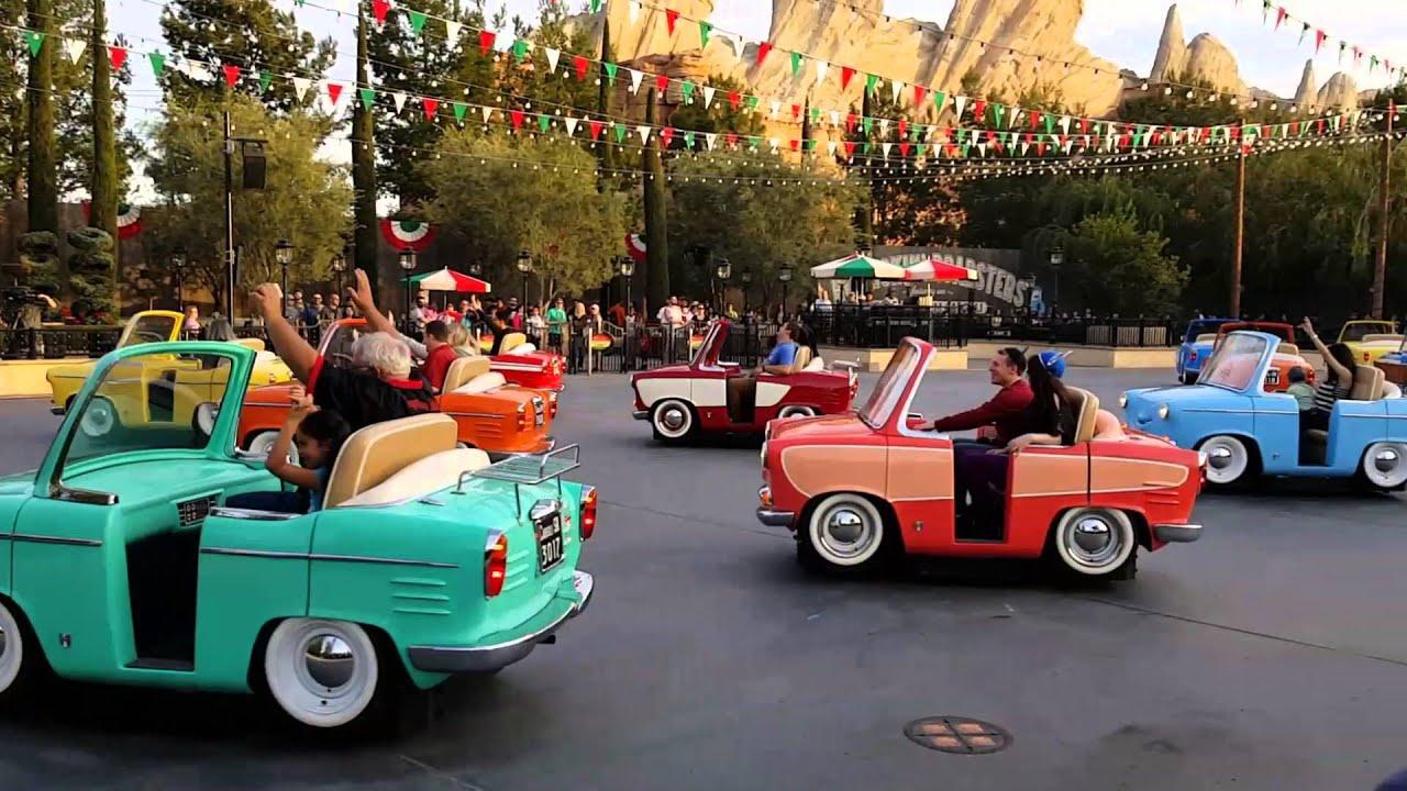 Where Is Disney Cars Theme Park