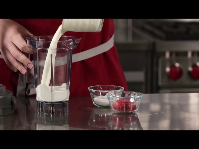How to Make Raspberry Whipped Cream - Vitamix The Quiet One