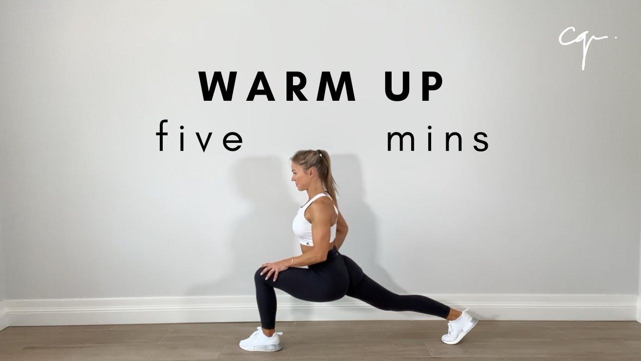 5 Minute Warm Up Routine