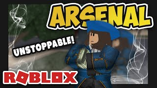 Im UNSTOPPABLE à ARSENAL (Roblox)