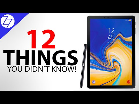 NEW Samsung Galaxy Tab S4 - 12 Things You Didn't Know!