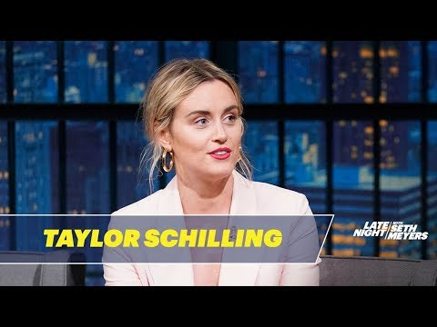 Taylor Schilling's French Bulldog Can Talk