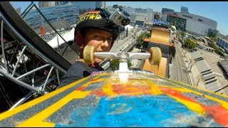 GoPro HD: Skate Big Air – Mitchie Brusco Course Preview – X Games 2012
