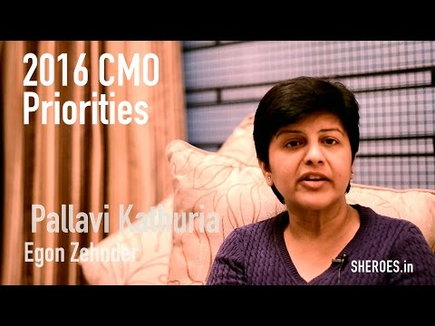 "India Marketing: ""CEO expecting CMO to be a strategic partner"". Pallavi Kathuria #SHEROES8"