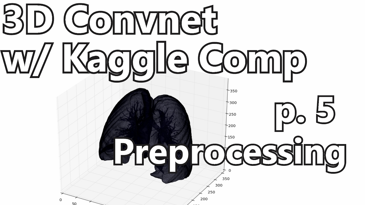Preprocessing data - 3D Convolutional Neural Network w/ Kaggle and 3D  medical imaging p 5