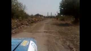 Driving in Agdam Ghost Town in Nagorno Karabakh
