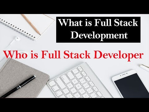 How to become a Full Stack Developer   Full Stack Development   Full Stack Developer