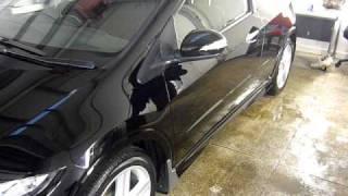 Carnauba wax @ Eclectic Cars. Honda Civic 2 Video