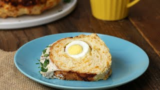 A Savory Breakfast Loaf Sure To Be A Showstopper •Tasty
