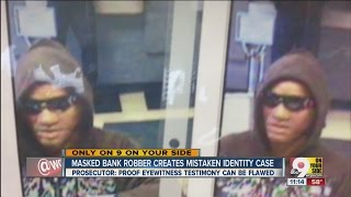 Masked bank robbery shows you can't believe what you see