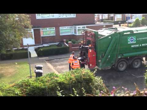 Cory Refuse collection, City of Lincoln, UK